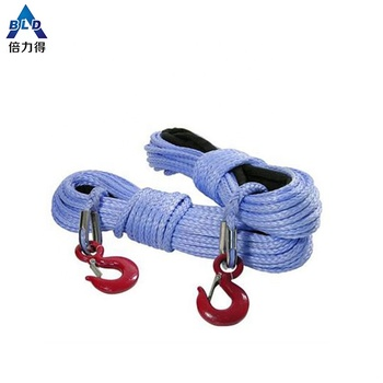 synthetic rope for winch