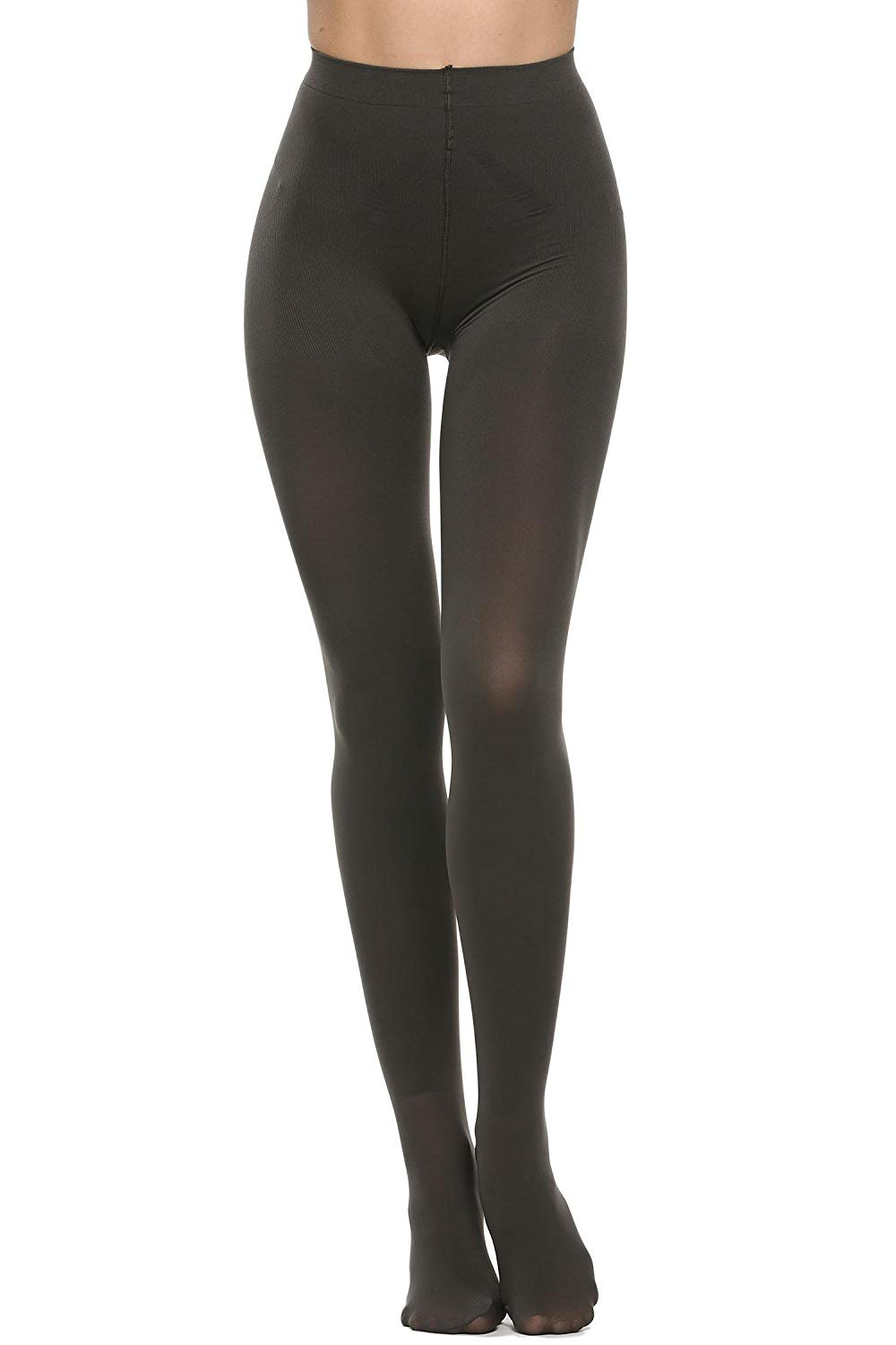 6e7de6fbc90 Get Quotations · dongba Opaque Footed Tights Footed Pantyhose Tights Black  Footed Hosiery Women Leggings