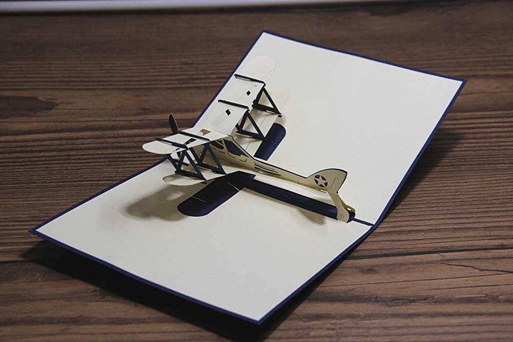 Назад будущее, открытки самолет самодельный