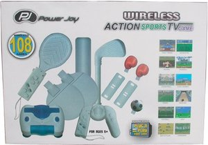 wireless action sports TV game