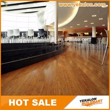 New Bamboo Flooring Coffee Color 14mm Tap & Go Click locking Solid Strand Woven Natural Bamboo Flooring for Hotel Apartment