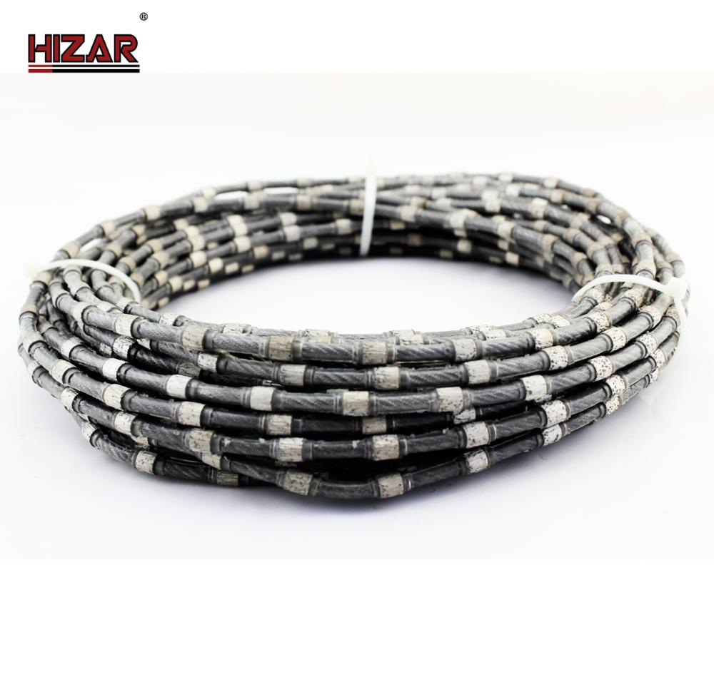 11.5mm Diamond Wire Used For Cutting Granite/diamond Rope Saw / Wire ...