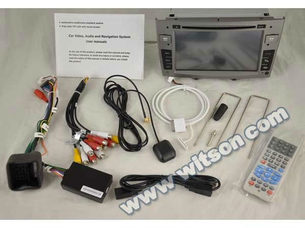 WITSON PEUGEOT 308 gps navigation system with built-in Bluetooth