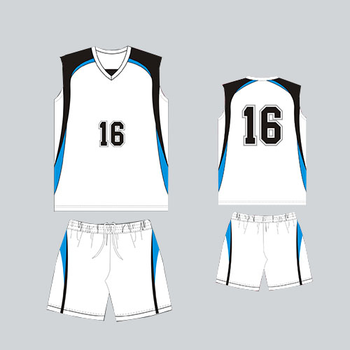 Top quality custom design volleyball jersey uniforms for men