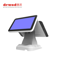 "Windows 15.6 inch Pos Terminal 15"" Capacitive All In One Touch Screen Pos Machine For Restaurant"