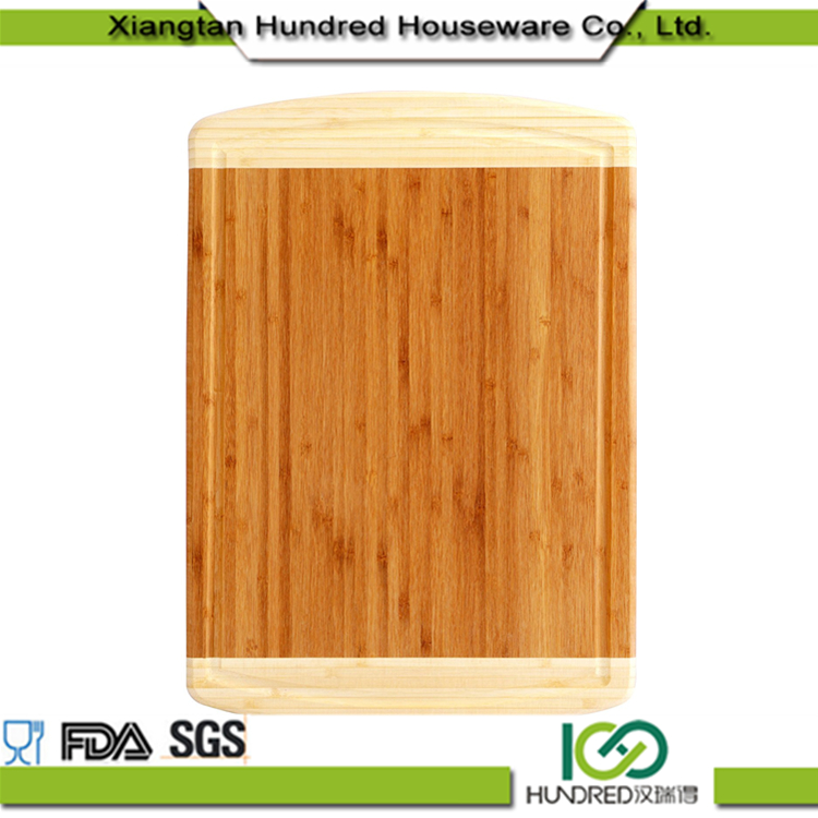 Extra Large Organic Bamboo Wood Cutting Board with Juice Grooves Wide and Thick Premium Craftsmanship