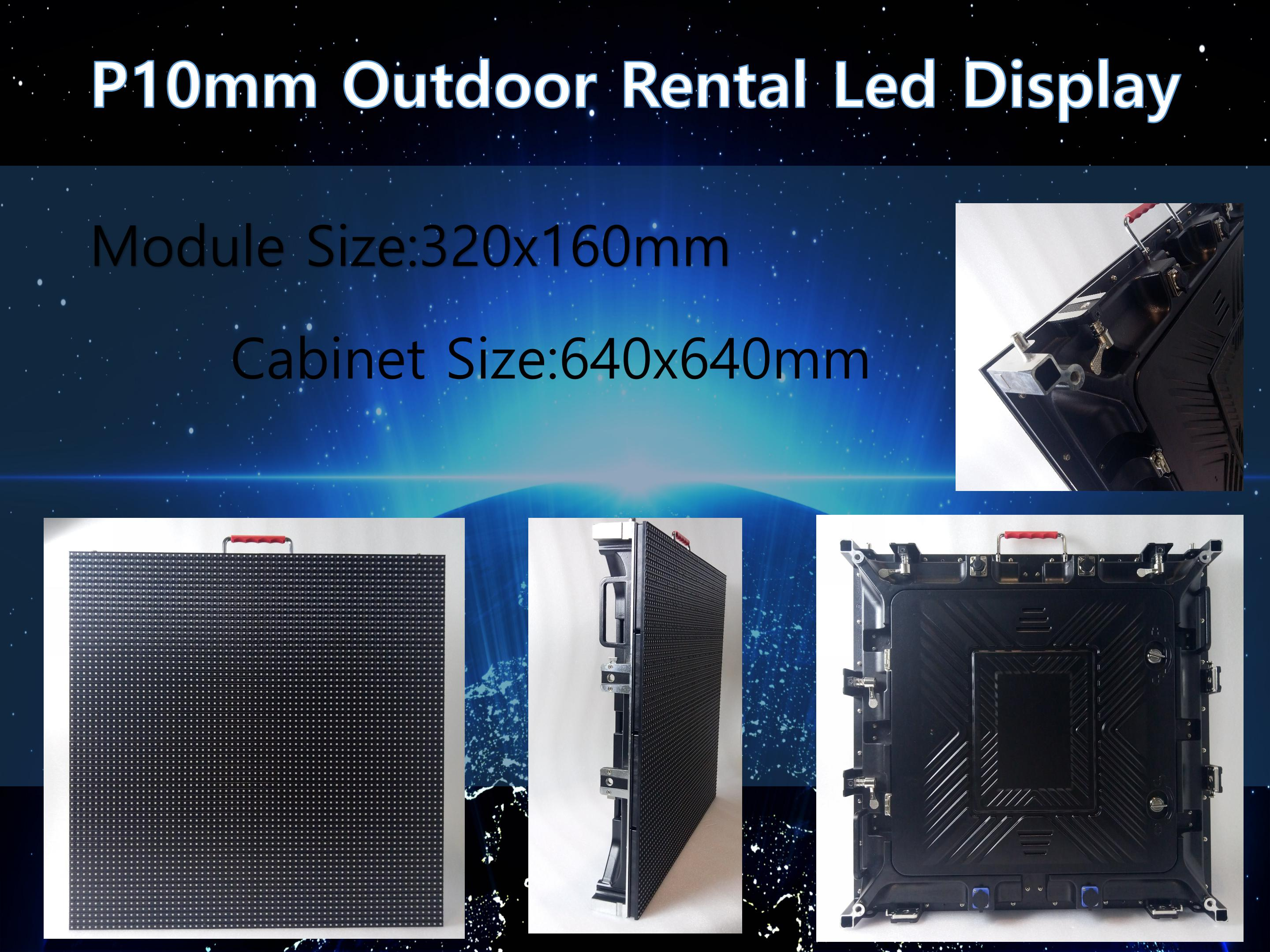 Outdoor rental smd hd p4 p5 p6 p8 p10 led screen led video wall for concert/event/show/party background