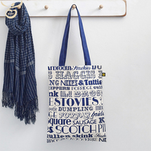 reusable canvas fashion craft tote bags