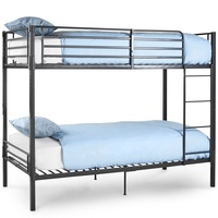 SW-S042 Heavy Duty Detachable Metal Frame Adult Double Steel Bunk Bed