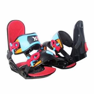 ABBOSBAPRO Kid s 2018 Rear Entry Step In Style Snowboard Bindings 9f4929251