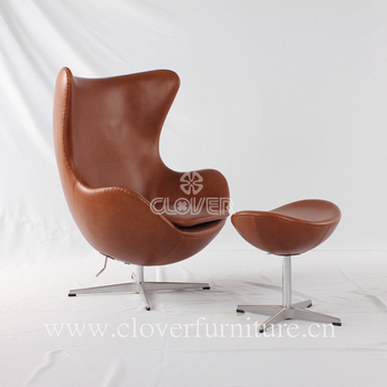 Replica Good Quality Egg Chair Italian Leather