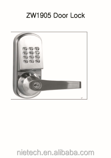 Z Wave Smart Door Lock Digital Door Lock Buy Door Lock