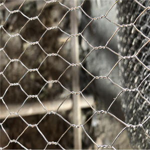Hexagonal Stainless Steel Chain Link Wire Mesh