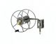 coil 30m 100ft retractable garden hose reel pipe with spray gun nozzle manufacturer supply eva garden water hose/pipe