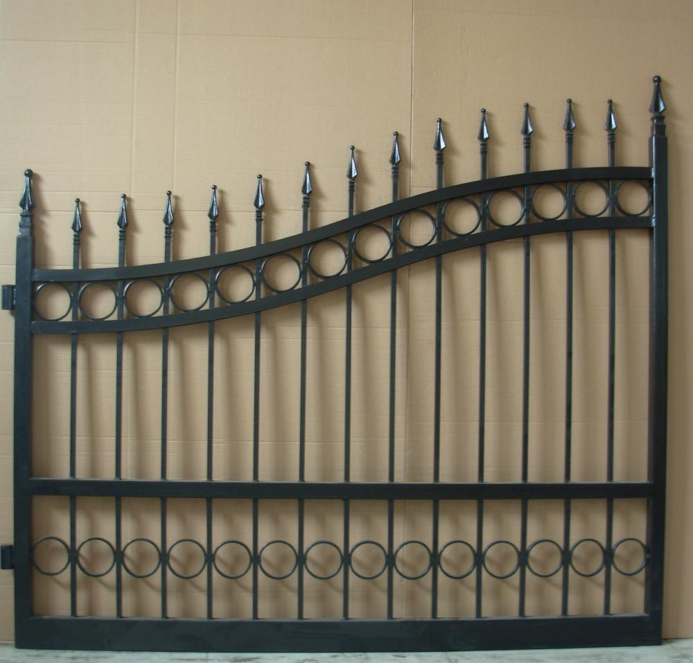 Different Steel Pipe Main Gate Design