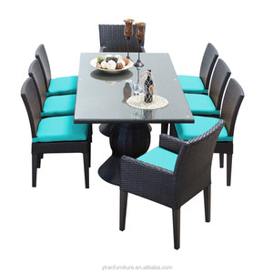 Outdoor Patio Table And Chair Used Rattan Furniture Philippine Garden Wicker Dining Set