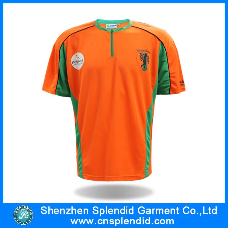 Design Your Own Sports T Shirt | Custom Design Your Own Zipper Collar Sport T Shirts Buy Sport T