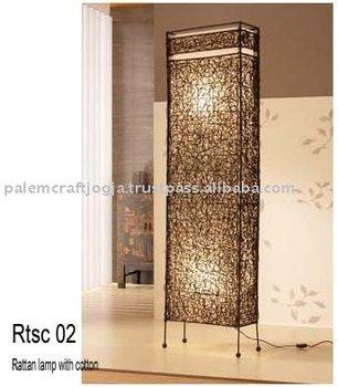 Rattan floor lamp buy floor lampfloor lightdecorative lighting rattan floor lamp mozeypictures Choice Image