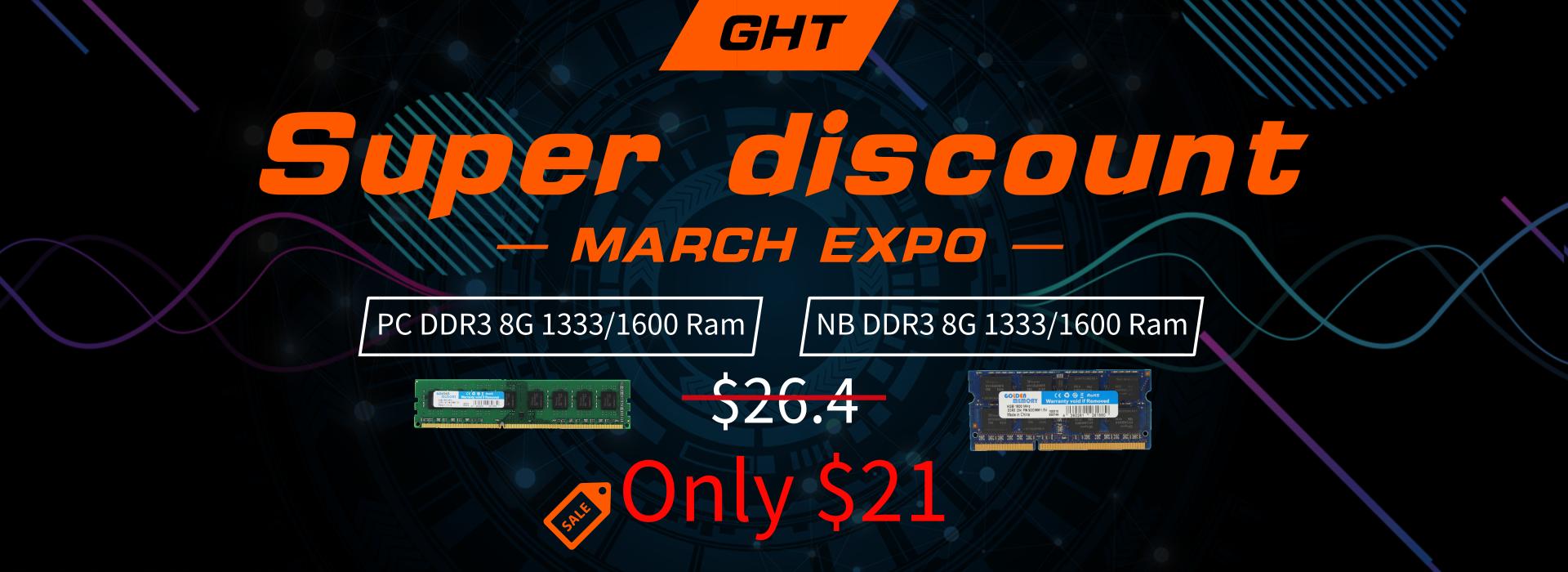 High Speed 1.5V Ddr3 4Gb 1600Mhz Ram With Heat Spreader