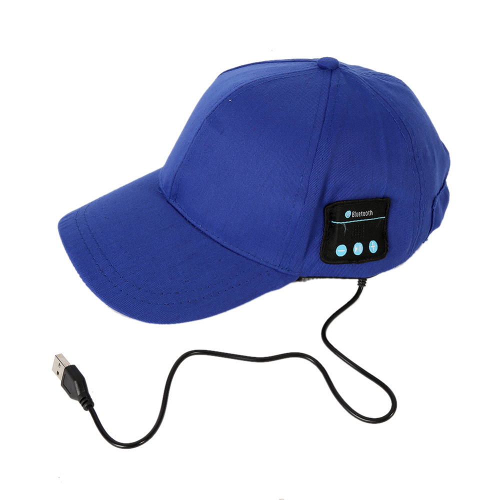 Wireless Bluetooth Headphone Music Sport <strong>Cap</strong> Smart Baseball Hat with Hands-free Mic Earphone Sun <strong>Cap</strong> for iphone Samsung