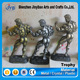 Folk Art Style and Resin Material Fitness Model Bodybuilding Statue Trophy