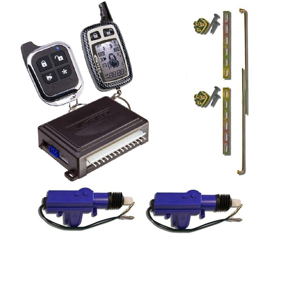 Cheap Power Door Lock Wiring Find Deals On Wireless Magnetic Diagram Get Quotations Scytek A777 Complete Two Way Remote Security System 2 Heavy Duty Universal 12 Volt