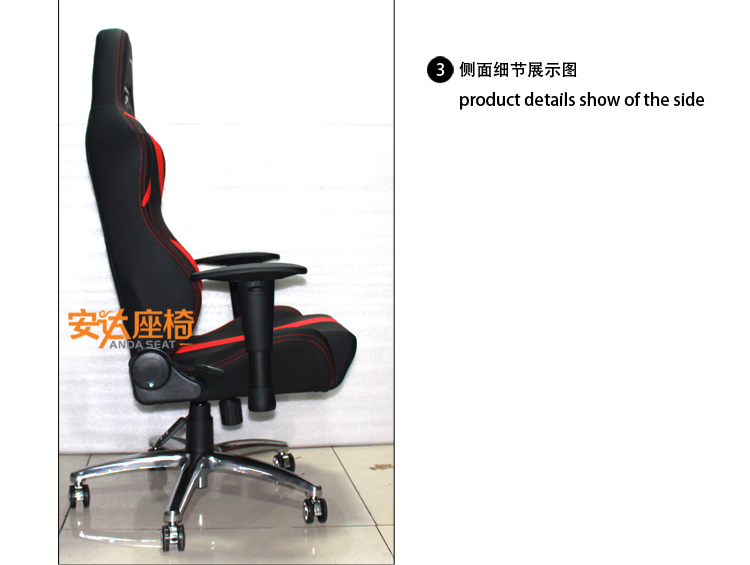 2015 New Design Game Racing Office Chair Sport Car Seat Style Office Chair  SPB/PVC