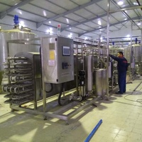 Pasteurized Milk Production Line/Small Scale Pasteurized Milk Production Machinery/Dairy Processing Equipment