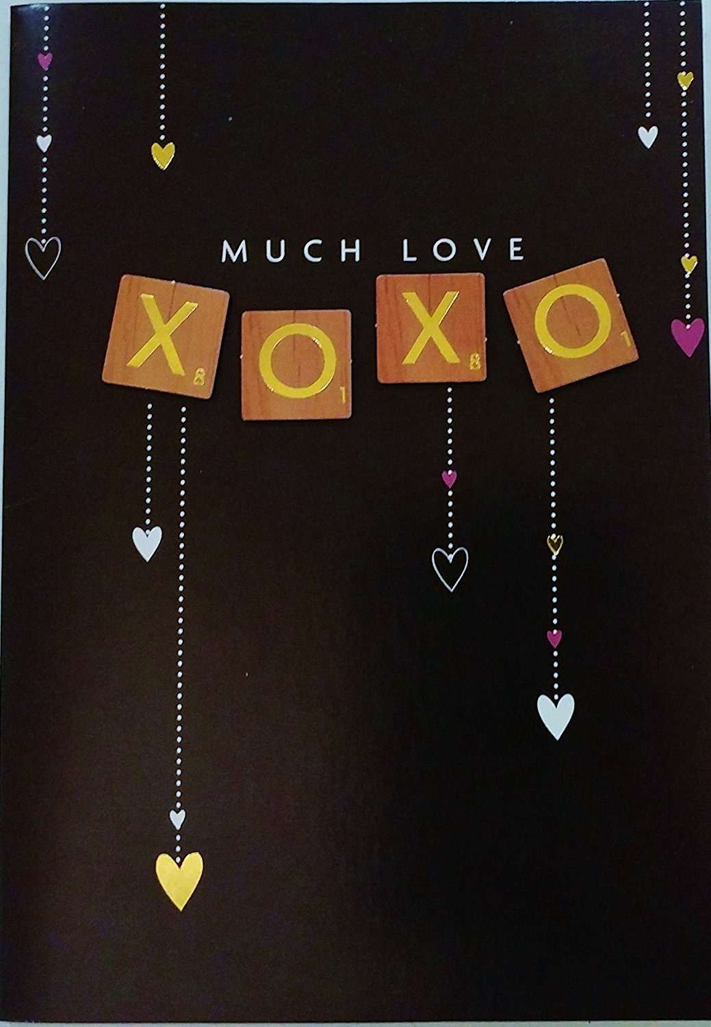 "Much Love XOXO - ""There's nothing I want more than to share this Valentine's Day with You!"" - Premium Greeting Card (Husband Wife Boyfriend Girlfriend)"
