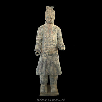 Meilun Antique Military Officer Terracotta Army Hot Sale Manufacturer Life Size Chinese History Sculpture Collection