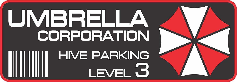 Buy 2x Umbrella Corporation Hive Parking Sticker Decal