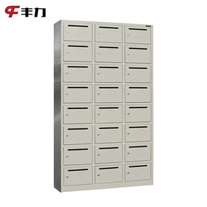 Multi Door Steel Apartment Building Newspaper Letter Holder Boxes