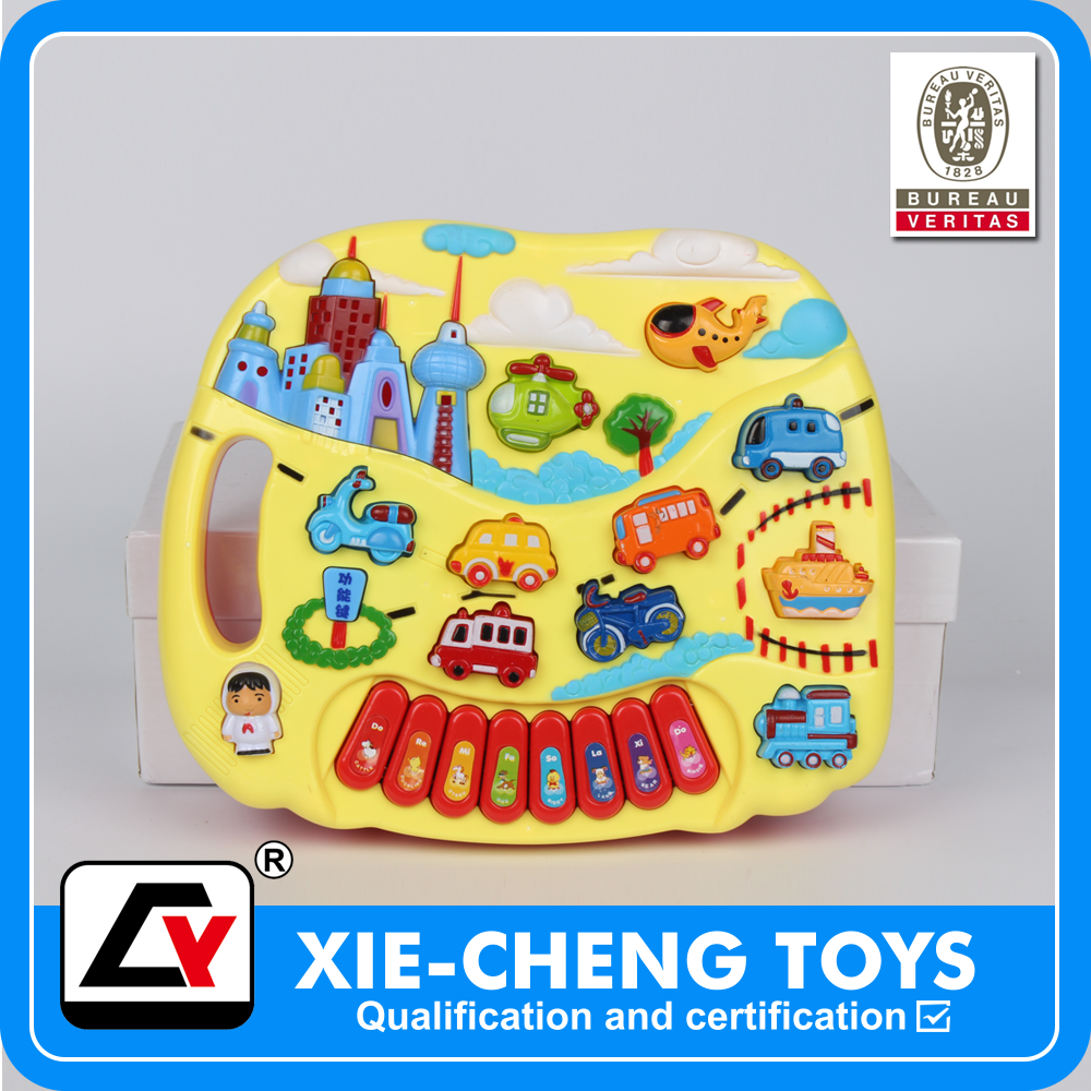 Educational children musical kawai toy piano language learning machine, custom sound machine toy toys musical animal piano