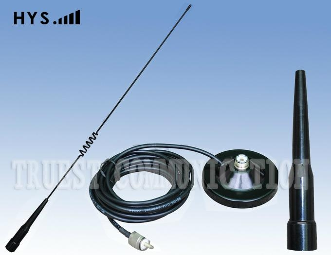 HYS PL259 Stainless Steel Wire UHF Omni 433 mhz Outdoor Car Antenna