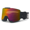 Flexible Tpu Frame Frameless Double Uv400 Protection Ladies Custom Oem Ski Goggles Beautiful Goggle Snowboard Goggles