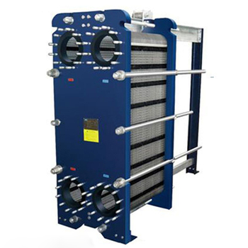 Best price 100kw industrial steam water air to air ptfe glass lined plate heat exchanger for milk pasteurization manufacturer