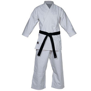 WKF Approved High Quality White Karate Gi Comfortable Karate Uniform