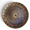 Wedding decoration gold glass wedding charger plate