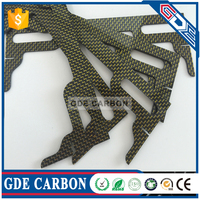 carbon fiber sheet CNC Cutting for hobby parts auto parts