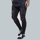 2018 new design mens sports pant jeans for go in and out gym