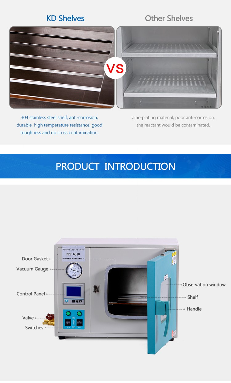 kd) Lab Paint Vacuum Drying Oven