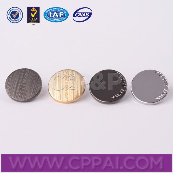 China factory custom sew fashion button for shirts