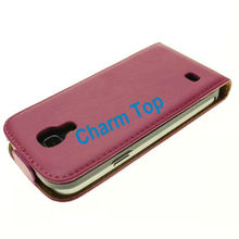 Beautifully stitched and crafted genuine leather slimline case for Samsung i9190 Galaxy S4 Mini