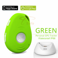 New Real Time SOS Button GPS Tracker min kids/pet/car free shipping ET017S