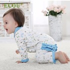 2020 fashion certified organic cotton fabric made organic baby clothes