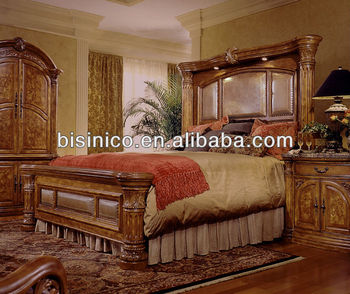 American Wooden Bedroom Furniture Sets,American Country Style Soild Wood  Bedroom Sets,American Furniture Bedroom Set (b14115) - Buy Antique Wood ...