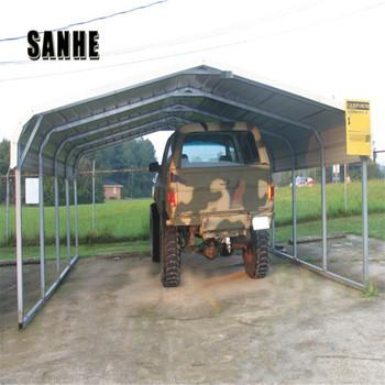 China Prefabricated Regular Metal Roof Carport Canopy For ...