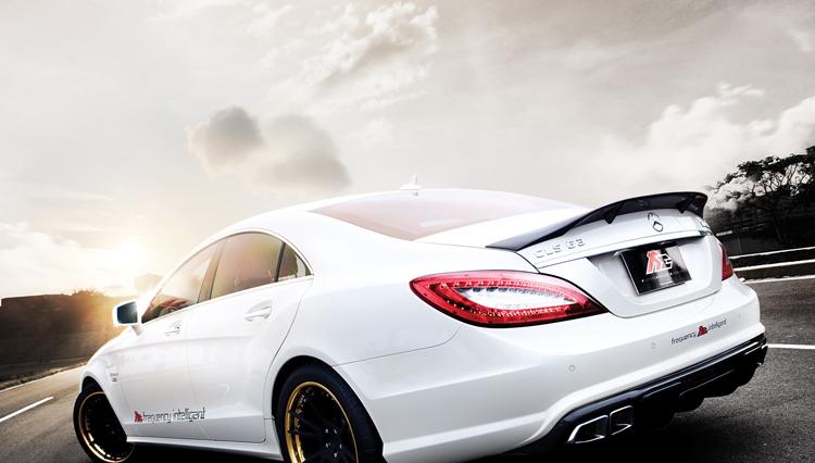 Carbon Fiber Trunk Spoiler For 11-15 Mercedes Cls 300 Cls350 Cls63 Amg W218 Rear Spoiler Gt Wing ...