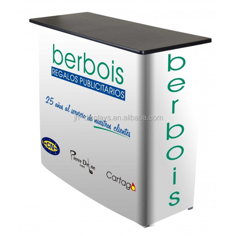 Meja Pop Up Promotion Counter Iklan Display Stand