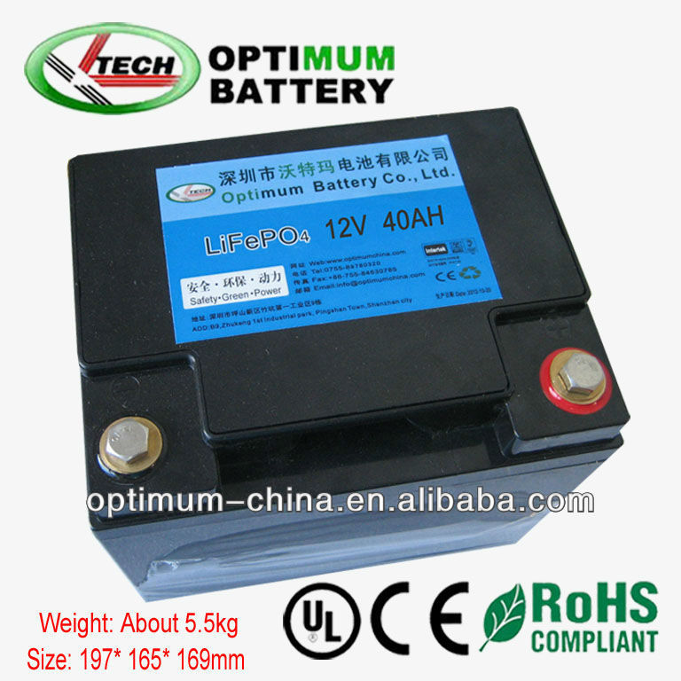 5ah-600ah rechargeable 12V lithium ion battery pack for car bicycle UPS